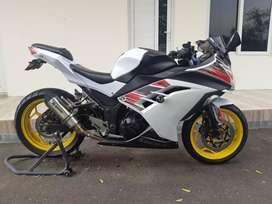 Kawasaki Ninja 250 Fi Mulus Full Acc Mesin OK Pajak On Milik Pribadi