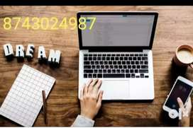 Urgent required  candidates for data entry work