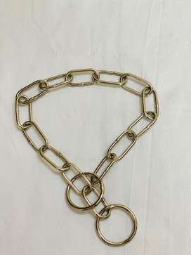 Steel choke chains