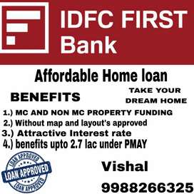 Home loan at very affordable prices