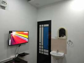 Newly constructed furnished rooms