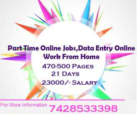 We Provide Online Home Based Typing Job