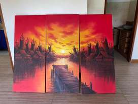 Lukisan dan Hiasan rumah. Boleh diliat