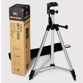 Tripod Stand 330A Full Length Professional for Mobile/Camera/DSLR
