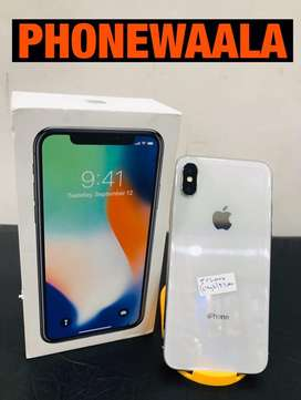 iphone x (64gb) Silver Brand new condition