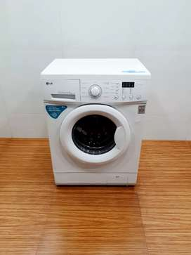 LG direct drive 5.5kg front load washing machine