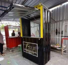 MURAH BANGET! booth, rombong, gerobak, container, semi container