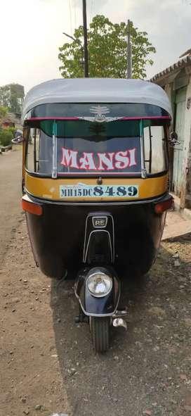Bajaj RE60 2012 LPG Good Condition private number