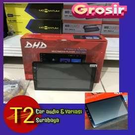 Grosir sby 2DIN 9INC LAYAR LEBAR ANDROIDLINK FULL HD+ CAMERA HD ASIK