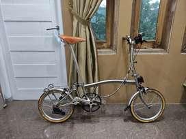Sepeda lipat 3sixty 360 pikes brompton