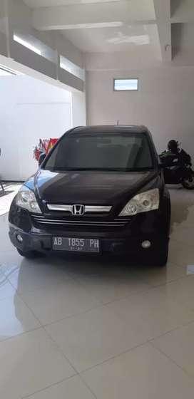 Honda CR-V 2.0 MT th 2009 atas nama sendiri pajak baru gress