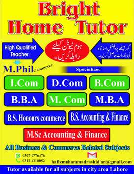 Home tutor, Academy College, University  and Teaching Full or part .