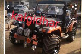 Open mahindra modified jeep