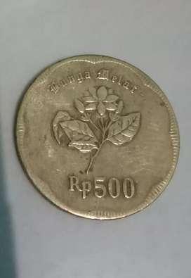 UANG KOIN BUNGA MELATI THN 1991