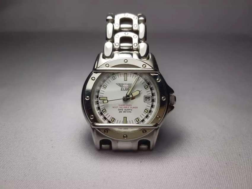 Jam tangan Elgin usa guard diver 0