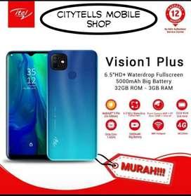 Infinix Itel Vision 1 Plus Ram 3/32 New Promo