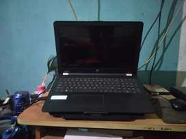 HP laptop with 12GB Ram and 256GB SSD