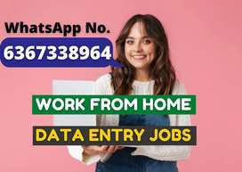 Monthly earning of Rs.30,000 with simple typing work.