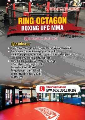 Ring Tanding MMA Oktagon Warna Lengkap