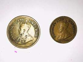 Old Treasure George V King Coins