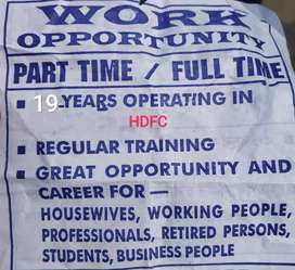 Freshers,Retired- person & housewife  eligible.