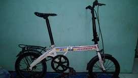 Sepeda lipat element 16in singel speed nego tipis
