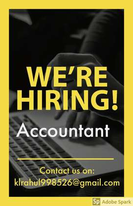 Hiring Accountant for Bus A/C Dealer
