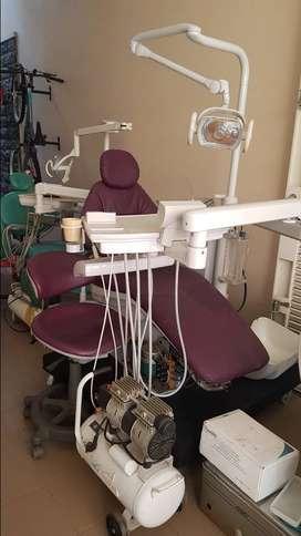 Dijual Dental Unit & Chair lengkap