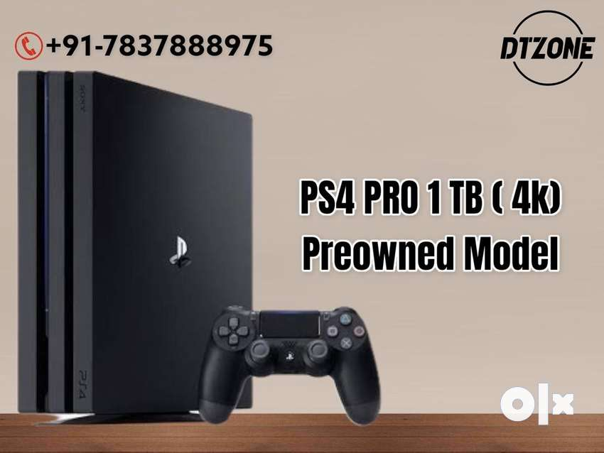 PS4 PRO 1 TB used, Perfect working condition with 1 controller @dtzone