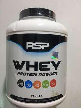 RSP Whey Protein Vanilla 4.6 lbs