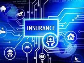 Any type of insurance2Wheeler,4Wheel,Truck,Bus,Stock,Marine,Fire,Cargo