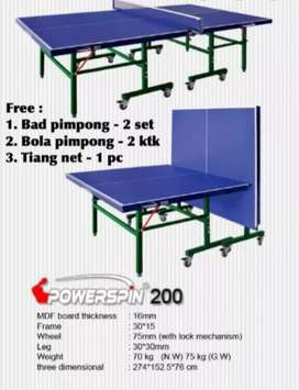 Tenis meja POWER SPIN 200 PAKET