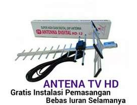 Tukang Jasa Pasang Sinyal Antena TV UHF Digital