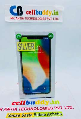 Apple iPhone X 256gb | Silver | SealedPacked With Insurance | Also Cod