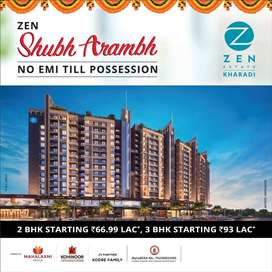 2BHK at Very Prime Location in Kharadi, Plausible River Facing Comdo!