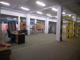 Disewakan Gudang 2 Lantai Cocok Untuk Pabrik Sudah Fi Renovasi Cantik