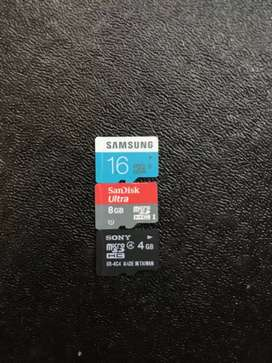 Heavy discounts on Memory card Brand new