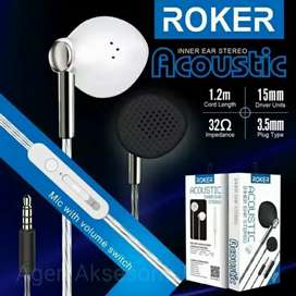 Handsfree roker acacoustic headset roker akuitic rk29 iw1