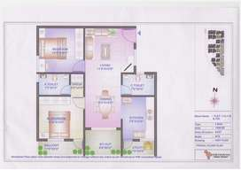 Groundfloor 2bhk interior done ready to move.