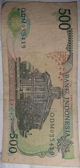 Uang 500 kertas tahun 1988