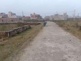 100 sq yard society plot