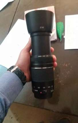 Canon camera 700d with 300 mm lense