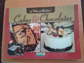 recipes book for cacke & chocolate