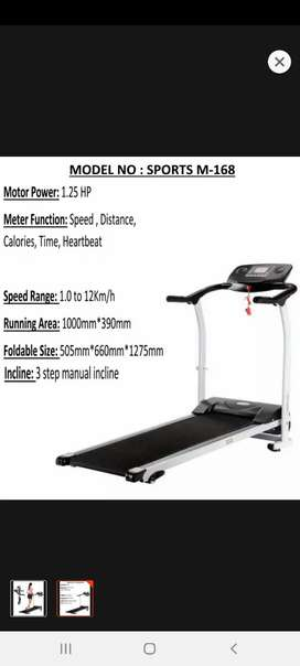 Motorized Treadmill running machine
