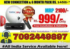 Tata Sky Hd Connection Offer ,Same Day Installation with 3 Year Warran