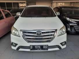 Toyota Innova G 2014 Solar Dp 25jt Tangan Pertama Siap Pakai Tangerang