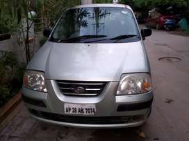 Well maintained with petrol Nd lpg Santro