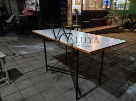 Meja lipat portabel meja lipat serbaguna meja makan