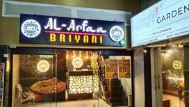 Hotel for sale Al Arfaa briyani shop is an established hotel