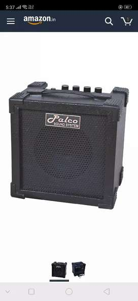 Palco guitar amplifier with gain